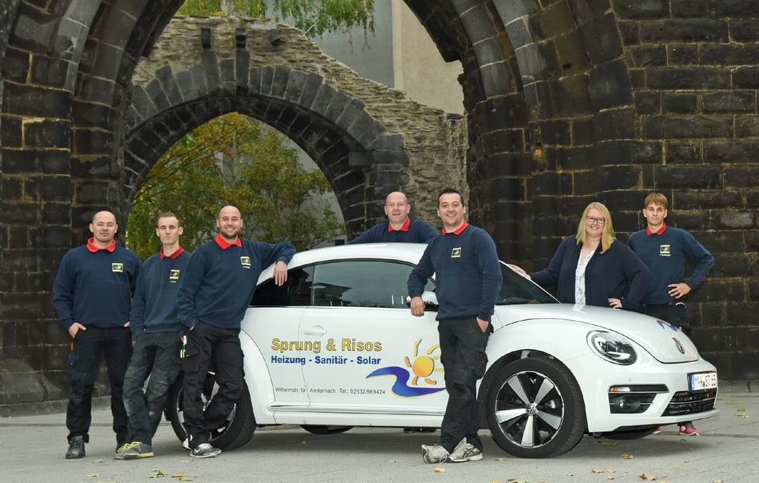 Das Team der Sprung & Risos GmbH & Co. KG